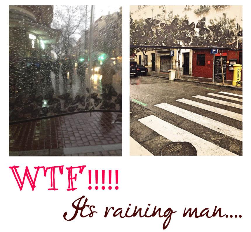Its raining