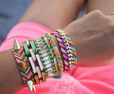 pulseras colores 5