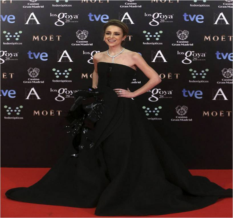 Silvia Abascal_Goya_Stephane Rolland Haute Couture
