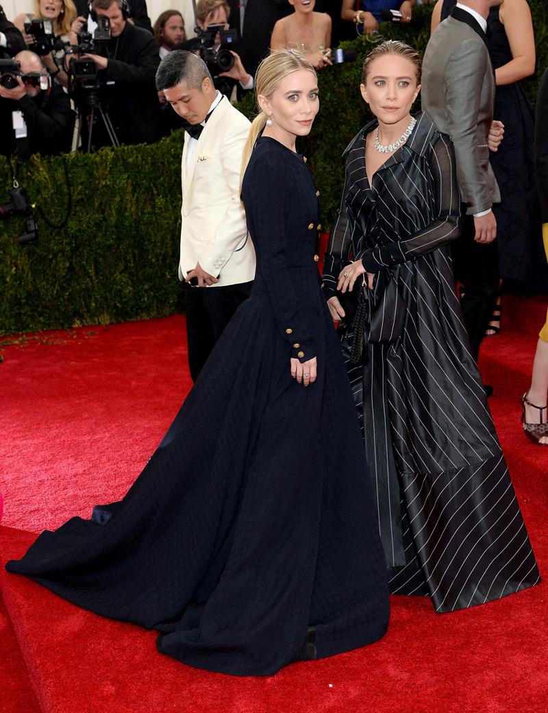 Ashley y Mary Kate Olsen_Met_2014