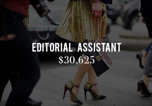 Sueldos editores moda 1