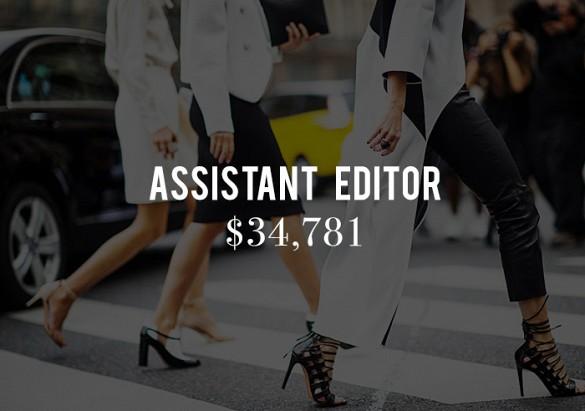 Sueldos editores moda 2