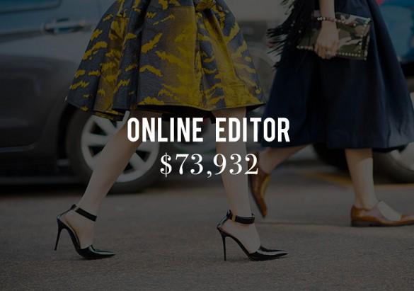 Sueldos editores moda 6